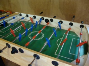 farm holiday self catering holiday cottages north devon table football