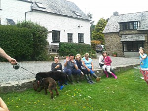Self Catering Farm Holiday Cottage Accommodation North Devon
