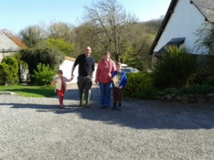 Farm Holiday Self Catering Short Break North Devon