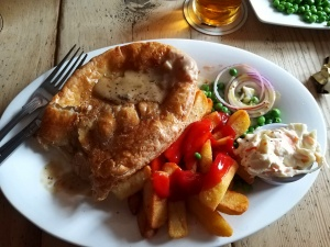 Chichester Arms meal near Lower Hearson Farm Self Catering Holiday Accommodation North Devon