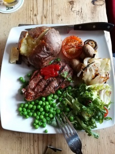 Chichester Arms Meal near Lower Hearson Farm Self Catering Farm Holiday Accommodation North Devon